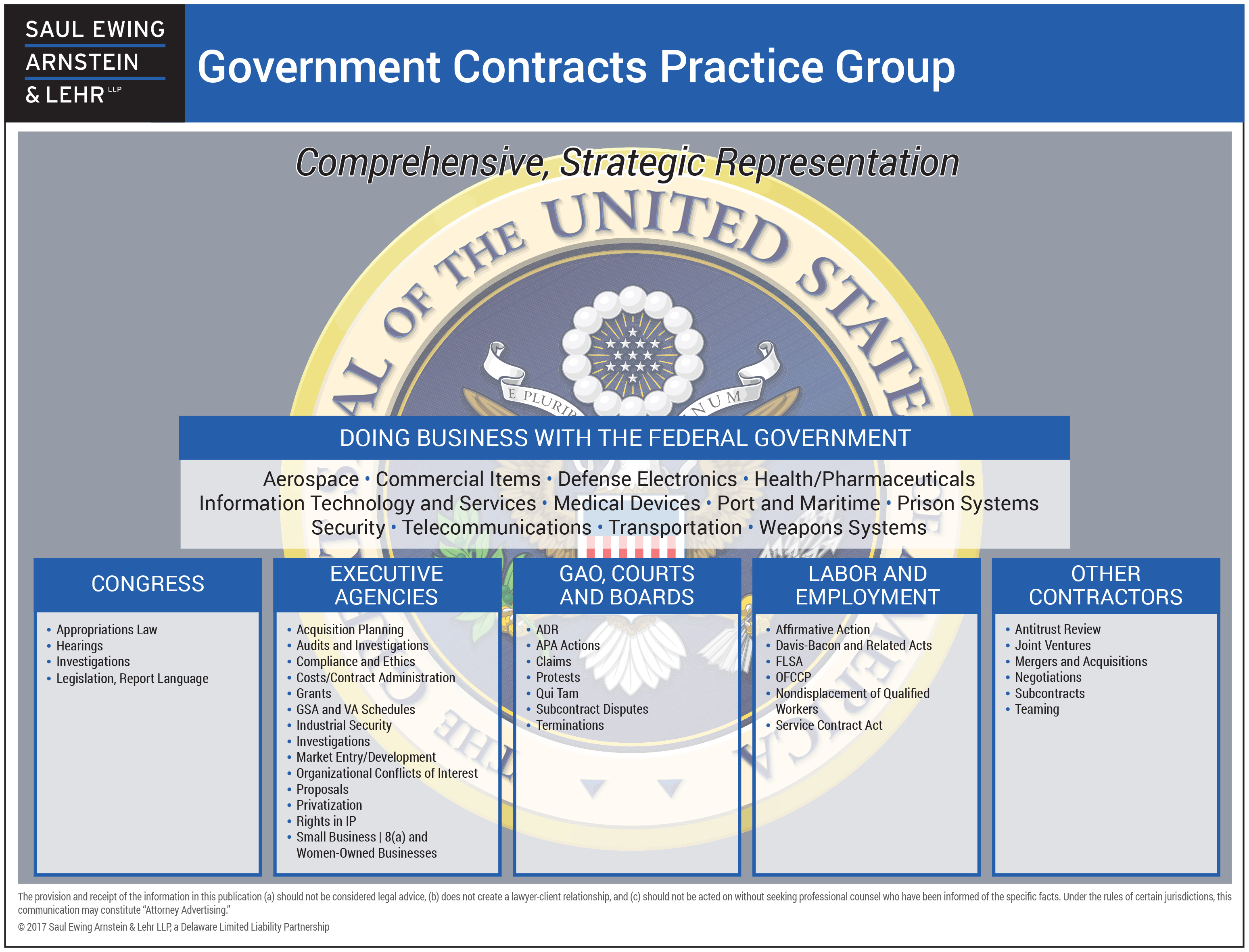 Government Contracts Saul Ewing Arnstein Lehr Llp